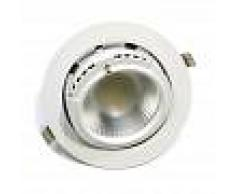 Barcelona LED Downlight LED circular empotrable basculante 38W 60º
