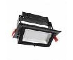 efectoled.com Foco Proyector LED SAMSUNG 120lm/W Direccionable Rectangular Negro 28W LIFUD No