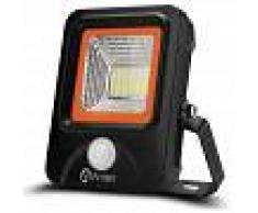 ANTEN 20W Foco LED Exterior con Sensor Movimiento, 2200LM, Blanco
