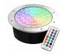 LEDBOX Foco empotrable FOKUA LED 24W, RGB, RF, RGB, regulable - LEDBOX