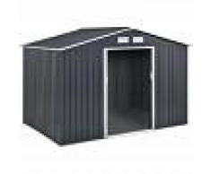 HABITAT ET JARDIN Caseta de metal Vegas - 5,29 m² - HABITAT ET JARDIN