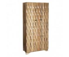 armario relieve madera