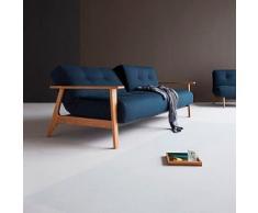sofá cama brazos madera Ample Frej
