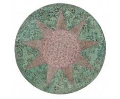 Alfombra redonda Star