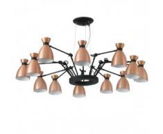 lámpara Retro cobre 12
