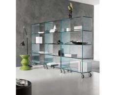 estantería cristal Librería