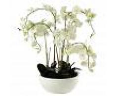 Maisons du Monde Orquídea artificial en tiesto Al. 98 cm FLORA
