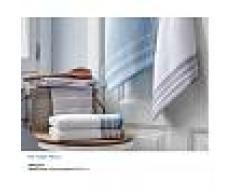 Bomdia Classic® 3 Paños de cocina rizo 50x50 cm color azul taupe gris (KT 143)