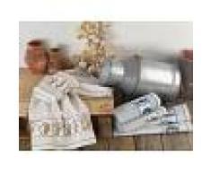 Bomdia Classic® 3 Paños de cocina tradición 50x50 cm algodón rizo - Portugal Natura (KT105)