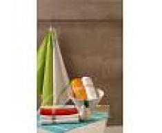 Bomdia Classic® 4 Paños de cocina 50x50 cm color vivos azul, rojo, verde, naranja - Portugal Natura (KT115)