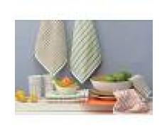 Bomdia Classic® 3 Paños de cocina rizo 50x50 cm 400 gr./m2 - BomDia (KT 149)