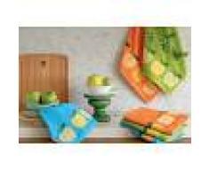 Bomdia Classic® 3 Paños de cocina rizo 50x50 cm 420 gr./m2 - BomDia (KT 157)