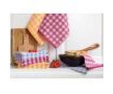 Bomdia Classic® 3 Paños de cocina rizo 50x50 cm 400 gr./m2 - BomDia (KT 154)