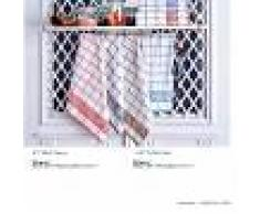 Bomdia Classic® 3 Paños de cocina rizo 50x50 cm cuadros (KT 144 TERRY)