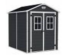 Garden House Garage 91 Caseta Cobertizo para Jardín de Resina 227x186x237cm GH91