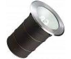 EFECTOLED Foco Circular Empotrable en Suelo Gea E27 Casquillo Gordo IP67 LEDS-C4