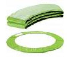 Arebos Almohadillas de seguridad Cojín Trampolín 183 cm verde claro