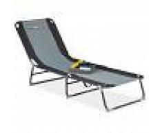 Azul Relaxdays 10020074 Silla Plegable de Acampar 75x55x92 cm