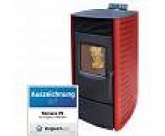 Nemaxx P9 Estufa de pellets Chimenea de pellets Calefacción Estufa