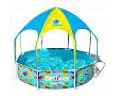 BESTWAY Piscina Desmontable Tubular Infantil Bestway Splash-In-Shade 244x51 cm