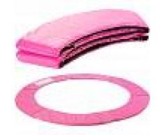 Arebos Almohadillas de seguridad Cojín Trampolín 183 cm rosa