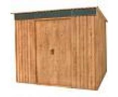 DURAMAX Nueva Caseta PENTROOF 8X6 WI-N, *Imitación madera de máxima calidad,