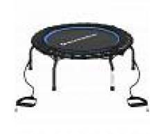 SONGMICS Mini Fitness-Trampolin, 96cm Durchmesser, Faltbares Indoor-Trampolin,
