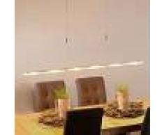 LUCANDE Lámpara LED colgante Mala de aluminio y vidrio - LUCANDE