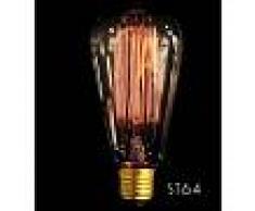 YOURLED ST64 Vertical Bombilla de filamento E27 40W Edison Vintage Decoracion
