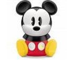 Philips Disney Mickey Mouse - Lámpara de mesa SleepTime, luz blanca