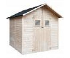 VIDAXL Caseta de almacenamiento de jardín de madera 226x248x218 cm - VIDAXL