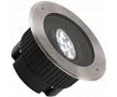 EFECTOLED Foco LED Circular Empotrable en Suelo Gea Power 9W 15º IP67 LEDS-C4