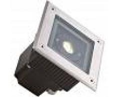 EFECTOLED Foco LED Cuadrado en Suelo Gea Power 6W IP67 LEDS-C4 55-9723-CA-CL