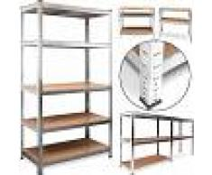 DEUBA Estanteria metalica estantes estanteria de almacenamiento garaje