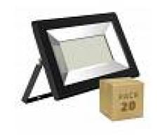 EFECTOLED Pack Foco Proyector LED Solid 50W (20 un) Blanco Frío 6000K - EFECTOLED