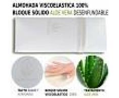 HOGAR24 Almohada Viscoelástica 100 % 2X90CM - HOGAR24
