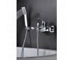 IMEX grifo de bañera / ducha monomando cromado Serie Bali - IMEX