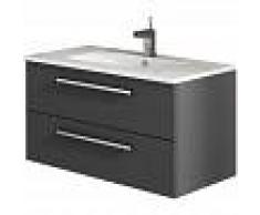 MENNZA CORDOBA Mueble de baño antracita 80 cm - MENNZA