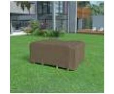 NORTENE Funda mesa rectangular + 4 sillas de 2,25 x 1,45 x h.90m Nortene