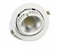 BARCELONA LED Downlight LED circular empotrable basculante 38W 3640lm 60º Blanco