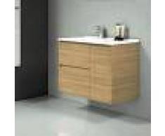 STANO Conjunto TAGUS, Mueble de lavabo 80cm y espejo HERA - STANO