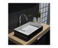 BERNSTEIN Lavabo para apoyar AQUA de piedra sólida (Solid Stone) - PB2011B - 48 x