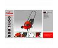 SMASH Cortacésped tracción manual 40cm de corte - Chasis polipropileno - 99cc