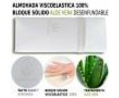 HOGAR24 Almohada Viscoelástica 100 % 2X70CM - HOGAR24
