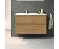 STANO Conjunto TUELA, Mueble de lavabo 100cm y espejo HERA - STANO