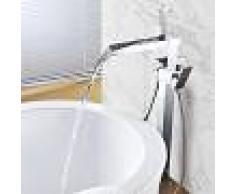 STANO Grifo CASCADA monomando sobre SUELO baño/ducha TANO para bañera exenta