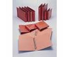 Fabrisa Carpeta Folio natural 25 mm 4 anillas - (6 unidades)
