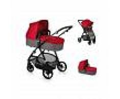 BECOOL Cochecito duo SLIDE TOP PLUS Be Solid Red BECOOL