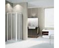 Novellini Nueva cabina de ducha Star con apertura de ángulo deslizante de 100x80 - product