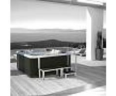 Grandform Bañera de hidromasaje al aire libre A500 215x215 Hidromasaje - revestimiento: gr